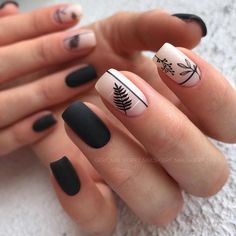 Want to know how to do gel nails at home? Learn the fundamentals with our DIY tutorial that will guide you step by step to professional salon quality nails. Aycrlic Nails, Chic Nails, Classy Nails, Stylish Nails, Matte Nails, Black Nails, Pink Nails, Manicure, Fall Nails