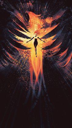 X-Men: Dark Phoenix poster, t-shirt, mouse pad Jean Grey Phoenix, Dark Phoenix, Phoenix Marvel, Phoenix Force, Phoenix Bird, Phoenix Animal, Konosuba Wallpaper, Phone Wallpaper For Men, Firebird