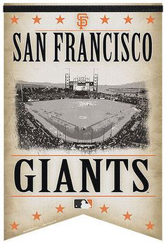 San Francisco Giants Stadium Banner