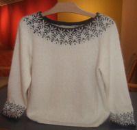 Svanen & Stora Svanen - The Swan & Big Swan Fair Isle Knitting, Free Knitting, Knitting Patterns, Diy Crafts Knitting, Fair Isle Pattern, Cardigans For Women, Casual Outfits, Textiles, Couture
