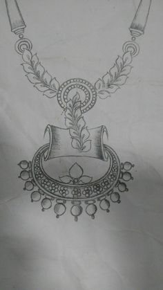 Necklace. Womens Jewelry Rings, Cute Jewelry, Jewelry Art, Resin Jewelry, Jewelry Box Hardware, Latest Henna Designs, Necklace Drawing, Jewelry Design Drawing, Jewelry Illustration