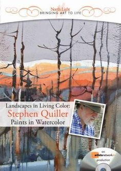 Learn to make smart color decisions with Stephen Quiller's guide to watercolor essentials?how to set up a palette based on a color wheel, how to mix versatile neutrals and how to use complements and n