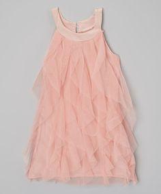 Look at this #zulilyfind! Pink Dusty Mauve Dress - Toddler & Girls by Kid Swag #zulilyfinds