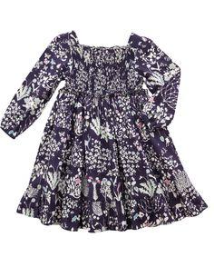 Yoshie Print 70s Smock Dress   Girl's Clothing by Liberty London