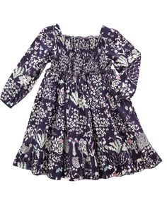 Yoshie Print 70s Smock Dress | Girl's Clothing by Liberty London
