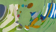 Syd Solomon, Clearay 1971, Oil and acrylic on linen