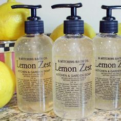 Lemon Zest Liquid Soap -