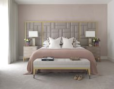 Casual Or Elegant Bedroom Design (What To Choose?) - Interior Decor and Designing Home Decor Bedroom, Luxe Bedroom, Bedroom Decor, Pink Bedroom Decor, Modern Bedroom Design, Bedroom Colors, Contemporary Bedroom, Simple Bedroom, Modern Bedroom