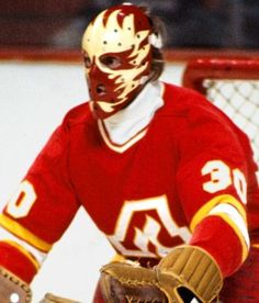 Dan Bouchard Goalie Mask
