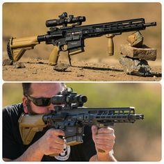 HK417 M-LOK handguard by CIM Tactical