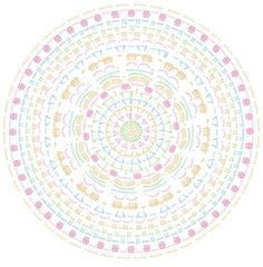 Mandala häkeln - Gratis Anleitung für schöne Wohndeko | Stricken und Häkeln