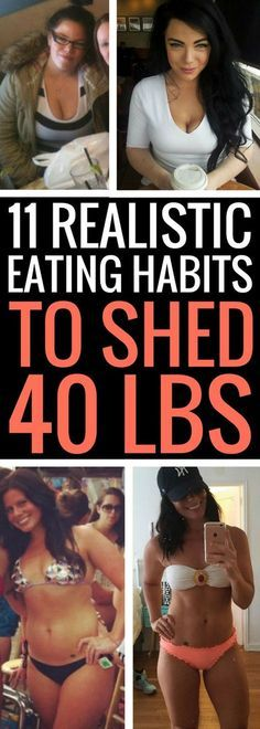 11 sensible eating tips to shed 40 pounds fast.