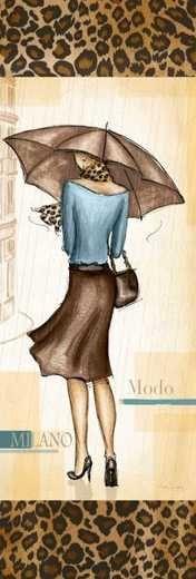 ANDREA LALIBERTE(дама с зонтиком)