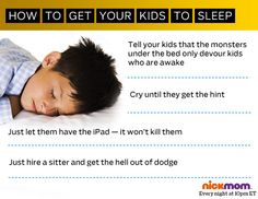 How To Get Your Kids to Sleep #goodluck