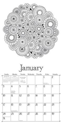 Amazon Prime Now Wall Calendars Adult Coloring Pages Books Johanna Basford Household Items Doodle Art Secret Gardens Zentangle
