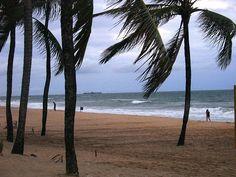 Praia de Boa Viagem, Recife, Brasil.