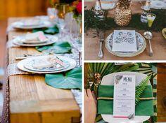 Mariage tropical exotique – La Fabrique des Instants - Wedding inspiration - Exotic tropical wedding -