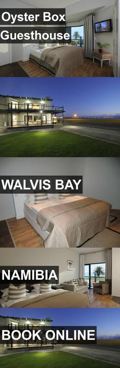 Hotel Oyster Box Guesthouse in Walvis Bay, Namibia. For more information, photos, reviews and best prices please follow the link. #Namibia #WalvisBay #travel #vacation #hotel