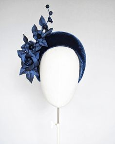 Halo Headband, Fall Winter, Autumn, Leather Flowers, Fascinators, Hat Making, Hats For Women, Swirls, Poppies