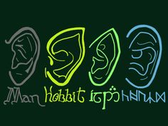 The Ears of Middle-earth. A fabulous guide. I love how it's all in their languages. <3