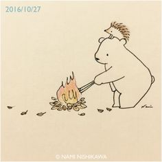 Hedgie & friend by the fire