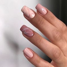 Classy Nails, Stylish Nails, Simple Nails, Square Nail Designs, Short Nail Designs, Natural Nail Designs, Classy Nail Designs, Nail Design For Short Nails, Summer Nail Designs
