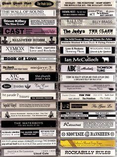 Cassette Art on Computer by Steve Vistaunet