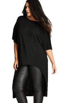 Plus Size T-Shirt Madison Extra Long Tee