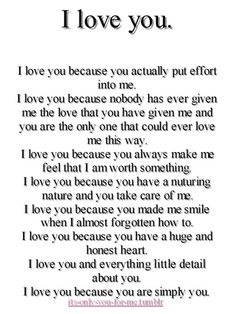 Why I Love You Letters - WOW.com - Image Results