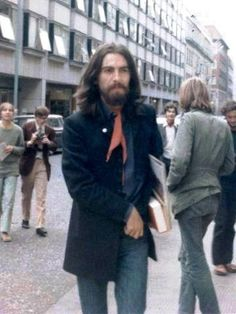 22nd August 1969. George photographed in central London.
