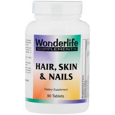 Hair Skin and Nails (90 ct) Wonderlife