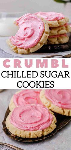Copycat Recipes, My Recipes, Cookie Recipes, Dessert Recipes, Favorite Recipes, Sugar Cookie Frosting, Sugar Cookies, Delicious Recipes, Yummy Food