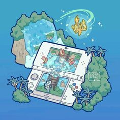 Tagged with art, pokemon, pokemon fan art, timeline, pokemon go; Evolution of Pokemon playing Pokemon Moon, 3ds Pokemon, Pokemon Fan Art, Fotos Do Pokemon, Pokemon Memes, Pokemon Manga, Photo Pokémon, Pokemon Pictures, Monsters