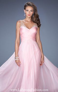 Prom Dresses 2014 V Neckline Dress Beaded Tulle Straps Low Back Pleated Bodcie With Long Chiffon Skirt , You will find many long prom dresses and gowns from the top formal dress designers and all the dresses are custom made with high quality Straps Prom Dresses, Prom Dresses For Sale, Pink Prom Dresses, Homecoming Dresses, Bridal Dresses, Bridesmaid Dresses, Dress Prom, Dress Long, Dress Sale
