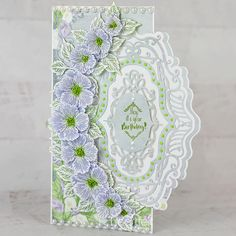 Elaborately Framed Floral Handmade Greeting Card - Give the most beautiful birthday card this year with the Majestic Fra Card Making Tutorials, Making Ideas, Beautiful Birthday Cards, Calla Lillies, Calla Lily, Heartfelt Creations Cards, Birthday Sentiments, Flower Cards, Butterfly Cards