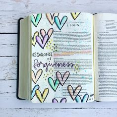 """""""Assurance of Forgiveness """"If we confess our sins, he is faithful and just to forgive us our sins…"""""""