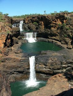 Mitchell Falls, Western Australia.  Upon the Plateau by Devar