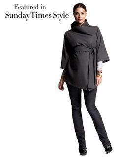 Belted Wrap Jacket | Jackets | Isabella Oliver