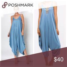 💰QUICK SALE FOR TODAY ONLY Blue Harem Jumpsuit Comfortable Harem blue jumpsuit. Pants Jumpsuits & Rompers