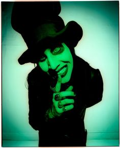 Marilyn Manson <3 <3 <3 Judge me IDGAF ! Man has some talent and aside from his looks his music is awesome !