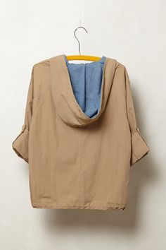 Cropped Hooded Anorak - Anthropologie.com