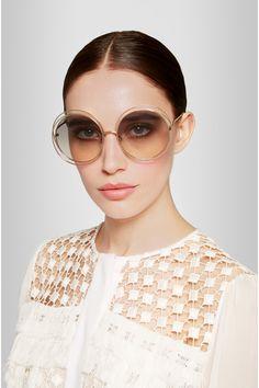 Carlina round-frame glasses Chlo hdXe3fp
