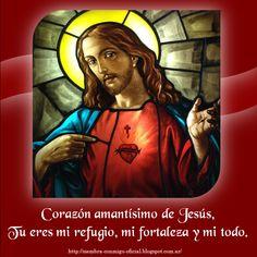 Artwork, Hearts, Sacred Heart, Powerful Prayers, Jesus Christ, Hail Mary, June, Work Of Art