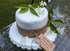 DIY tuto Weddingcake pour weddingday !