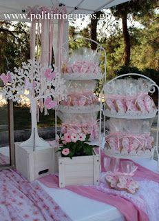 Βάπτιση Θεσσαλονίκη, Στολισμός βάπτισης Θεσσαλονίκη, Στολισμός βάπτισης πεταλούδες Flower Arrangement Designs, Flower Arrangements, Coin Photo, Ballerina Birthday, Photo Corners, Sweet 16 Parties, Candy Table, Event Decor, Christening