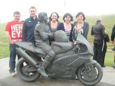 Joey Dunlop Statue
