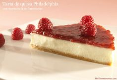 Tarta de queso Philadelphia - MisThermorecetas.com