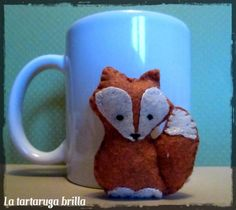 felt fox   felt fox   Italian Crafty Community on Pinterest