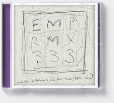 'EMP RMX 333 – A tribute to Else Marie Pade (1924-2016)' (Dacapo Records). Album cover art: Denise Burt. Read the story about how the cover artwork was designed on http://seeingnewmusic.com/story/emp-rmx-333/?cat=featured&term=&offset=26 #albumart  #artmusic  #contemporaryclassical