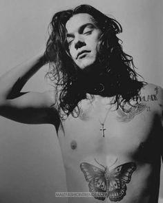 Harry Styles // Another Man Magazine Harry Edward Styles, Harry Styles Mode, Harry Styles Tweets, Harry Styles Eyes, Harry Styles Sem Camisa, Another Man Harry Styles, Harry Styles Shirtless, Indie, Grunge